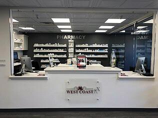 Inside of the pharmacy