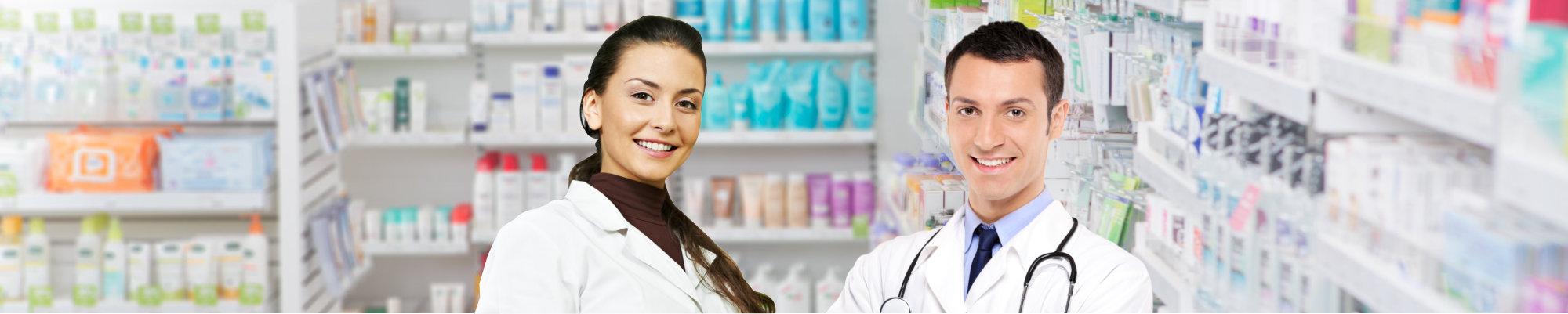 Male and Female Pharmacists